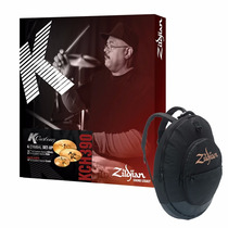Kit Pratos Zildjian K Custom H. Series Kch390 14+17+21 + Bag