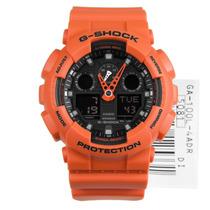 Relógio Casio G-shock Ga-100l 4a Laranja Serie Limitada