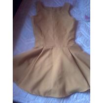 Vestido Color Mostaza Casual-valencia
