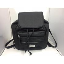 Bolsa Guess Se638029 Tipo Mochila Bradbury Negra Original