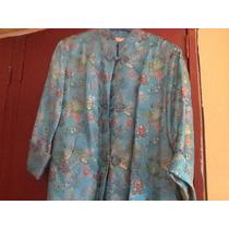 Elegante Vestido Corte Asiático Original