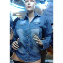 Camisas De Jean Para Damas Y Jovenes