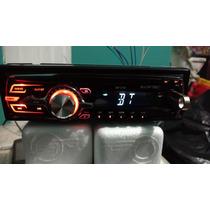 Auto Estereos Megafire Bluetooth, Usb Y Fm Caratula Mf318b
