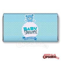 Etiqueta Para Chocolate Baby Shower Osito - Impresas