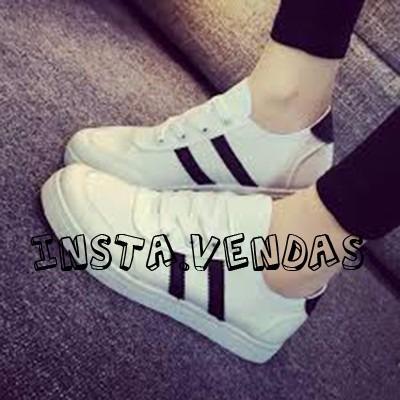 d9e737d7715 Loja Online Insta.vendas Tenis Feminino Estilosos - R  130