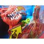 Pista Hot Wheels Duelo Dinosaurio T Rex Mattel