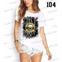 Guns N Roses T-shirts Blusa Camiseta Fashion Banda Rock Roll