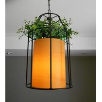 Luminária Decorativa Com Folhinhas Varanda