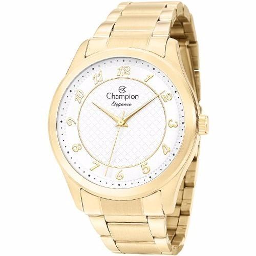 1006d363cf0 Relógio Feminino Champion Dourado Elegance Cn27723h - R  191