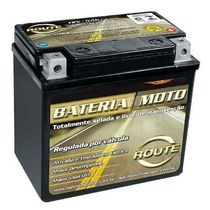 Bateria Route Titan 150 2014 Ate 2016 6ah (produto Novo)