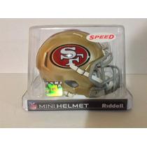 Casco Nfl Mini Helmets Riddell Speed 49ers San Francisco