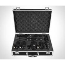 Microfone Tsi Bateria Kit C/ 7 Peças C/ Clamp E Case Dsm7