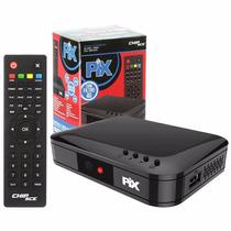 Conversor Tv Digital Gravador Filtro 4g Slim Full Hd Pix