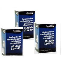 Recipientes Medición, P/ Nebulizador Citizen Cun-60 3 Cajas
