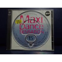 Maxi Dance Sensation Cd Duplo 15 - Coletanea Dance Mix House
