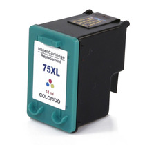 Cartucho De Tinta Hp 75xl Colorido (color) Compatível L C428