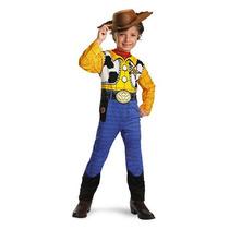 Disfraz Niño Importado Woody Toy Story Licencia Disney T.7/8