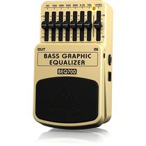 Pedal Behringer Beq700 Equalizador Grafico P/ Baixo Beq 700