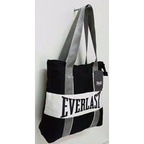 Oferta!!! Cartera/bolso Everlast Canvas 100% Original!!!