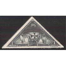 1930 España Colon Carabela 1 P. Sello En Triangulo Mnh