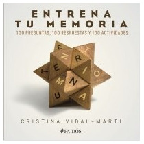 Libro Entrena Tu Memoria Cristina Vidal-marti + Regalo