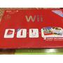 Nintendo Wii Rojo Edicion Especial + Unidad Dvd Como Nuevo