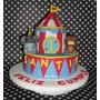 Tortas Decoradas Infantiles Tematica Circo 2.5kg