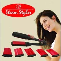 Plancha De Cabello Steam Styler, A Vapor