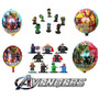 Super Heróis Kit Festas Vingadores Aniversários Decorações