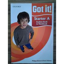 Livro Got It! Starter A - Student Book & Workbook C/cd Novo