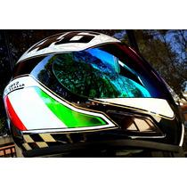 Capacete Valentino Rossi 46 Unita O Italia Helmet Df2