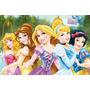 Painel Decorativo Festa Infantil Disney Princesas (mod7)