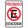 Placa Sinalizadora Proibido Estacionar Garagem Portao