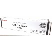 Toner Canon Gpr-22 Original Somos Tienda Quinta Crespo