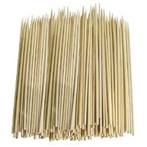 Paquete De 300 Delgados De Bambú Pinchos De Barbacoa Brochet