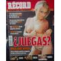 Revista Record Con Angelique Boyer, Con Poster