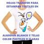 Papel Transfer Para Telas Claras (10 Hojas)