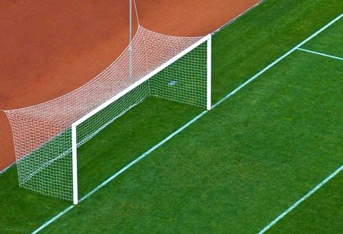 Par Rede Gol Futebol Campo T. México Fio 4mm Proteção U.v. - R  399 ... dca637f9f2983