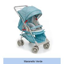 Carrinho Bebe Galzerano Maranello Verde - Lojas Rozinelli