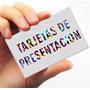 Tarjetas De Presentación Cartulina De Hilo 100 Por 3600bs