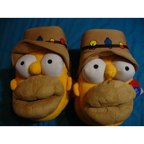 #25-29 Pantuflas De Homero Simpson Originales Env Incl Cynld