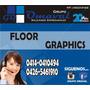 Floor Graphics-avisos-papel Ahumado-esmerilado-laminados