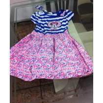 Vestido Minnie Disney Original Para Niña 6 O 7 Años
