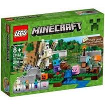 Lego Minecraft The Iron Golem Review Set 21123