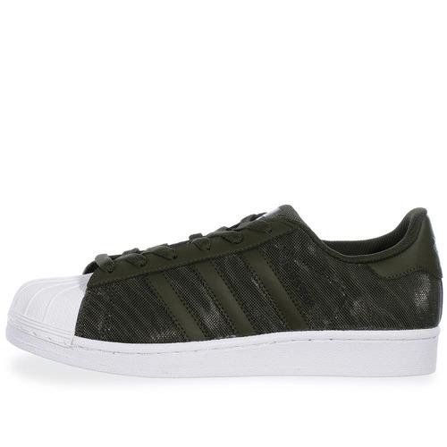 Dettagli su Adidas Originals Junior Superstar Glitter Scarpe Verde Oliva BB0314 Nuovo in