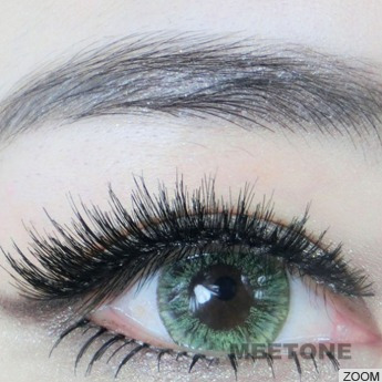 366d221b1014b Lente De Contato Verde Circle Lens Vivian Green No Brasil - R  65