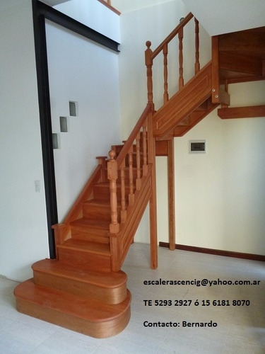 Escaleras interiores de madera revestimientos 50 en for Imagenes escaleras interiores