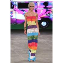 Vestido Bikini Hilo Tejido Mano Crochet Varios Modelos