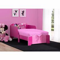 Cama Infantil De Madera De Lujo Minnie Mouse
