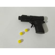 Mini Arminha De Plastico Atira Bolinhas De 6mm. Veja Anuncio